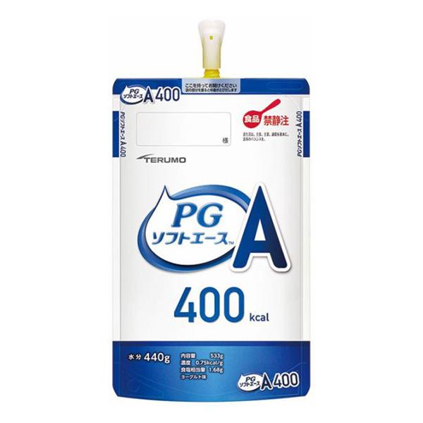 流動食 PGソフトA(エース)400 533g×12個 【2ケース購入で送料無料】