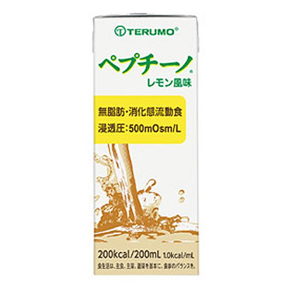 流動食 ペプチーノ 200ml×24個 レモン風味 【2ケース購入で送料無料】