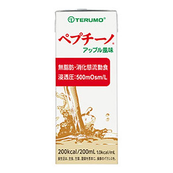流動食 ペプチーノ 200ml×24個 アップル風味 【2ケース購入で送料無料】