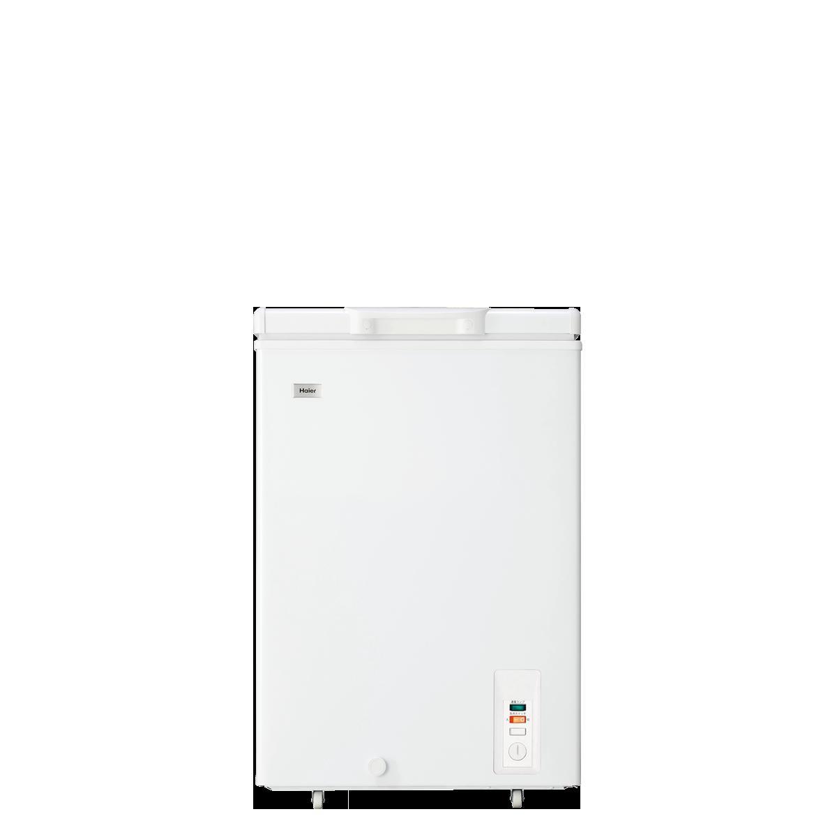 新品 ハイアール 103L チェストタイプ 冷凍庫(フリーザー)直冷式 ホワイトHaier JF-NC103F(W)