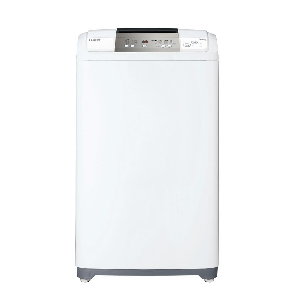 ハイアール 6.0kg 全自動洗濯機 ホワイトHaier JW-K60M(W)