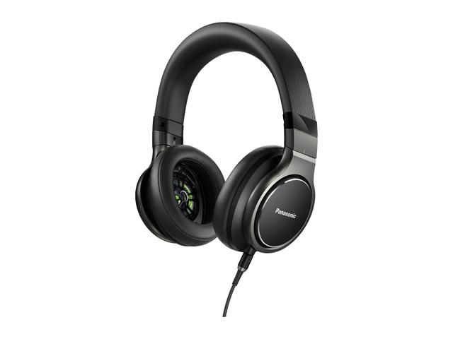 新品 パナソニック 密閉型ヘッドホン ハイレゾ音源対応 ブラック RP-HD10-K