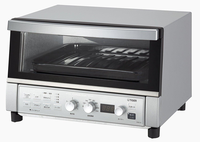 タイガー コンベクションオーブン&トースター やきたて KAS-G130-SN シルバー