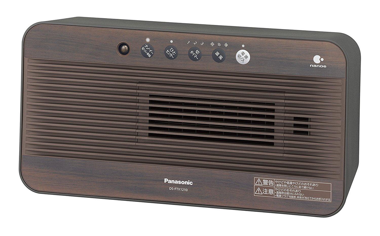 新品 パナソニック セラミックファンヒーター DS-FTX1210-T ダークブラウン