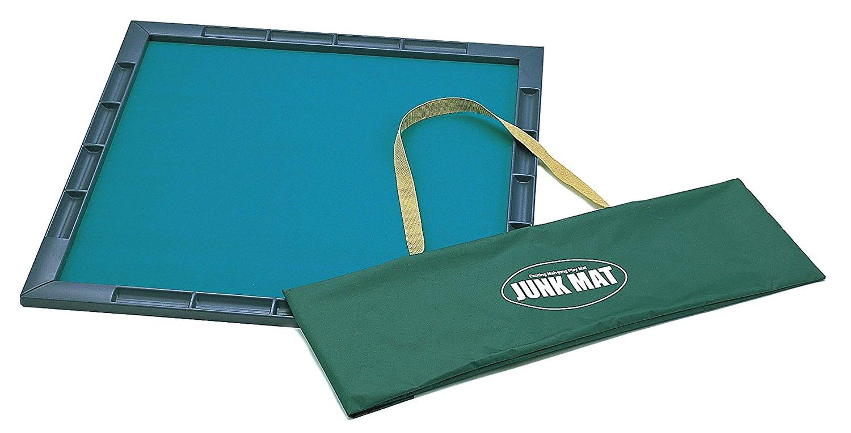 通常のゴムマットよりも軽い 水や汚れに強い 麻雀マット ジャンクマット キャリーバッグ付