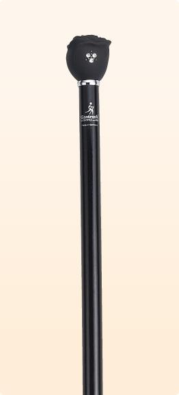 新品 ステッキ 杖 おしゃれ ガストロック Gastrock ブナ製 一本杖 GA-54