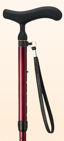 新品 ステッキ 杖 折りたたみ おしゃれ 愛杖 あいじょう カーボンシリーズ 花梨巻き C-79