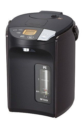 タイガー 蒸気レス VE 電気 まほうびん とく子さん(2.2L) ブラウン PIS-A220-T PIS-A220-T