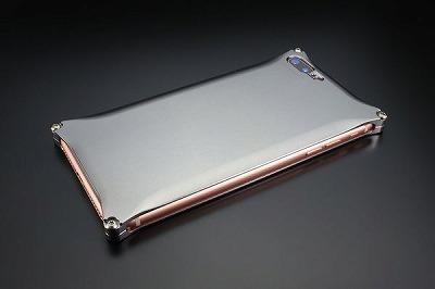 スマホ ケース iphone GI-410GR ソリッド iP8P/7P/グレー