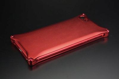 スマホ ケース iphone GI-400MR ソリッド Solid Matte RED Edition for iP8/7