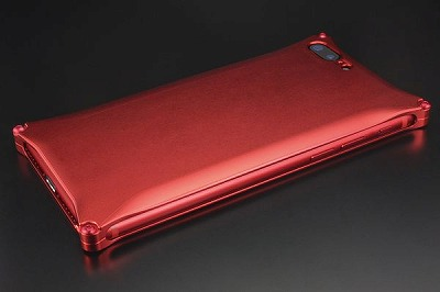 スマホ ケース iphone GI-410MR ソリッド Solid Matte RED Edition iP8P/7P