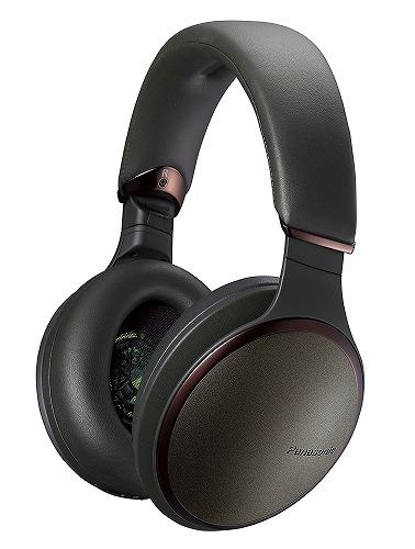 新品パナソニック ワイヤレスステレオヘッドフォン RP-HD600N-G