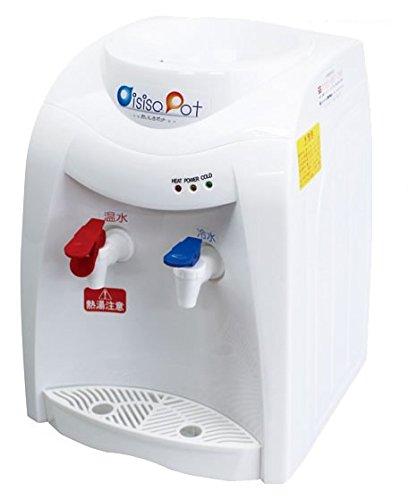 温水/冷水両用 卓上 ウォーターサーバー ペットボトル 2l 卓上ウォーターサーバー 家庭用卓上 おいしさポット HWS-101A ニチネン