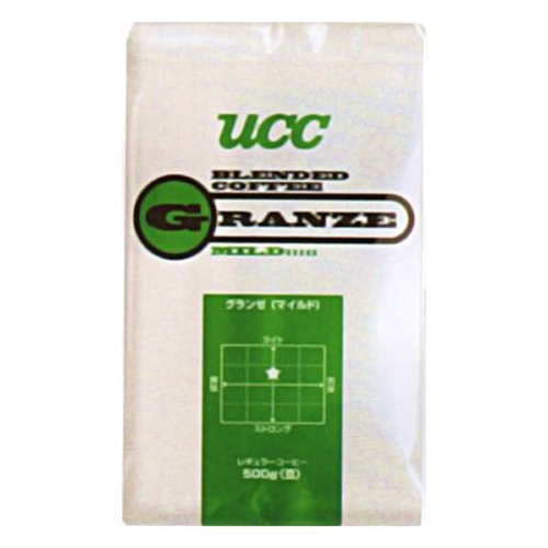 UCC上島珈琲 UCCグランゼマイルド(豆)AP500g 12袋入り UCC301203000