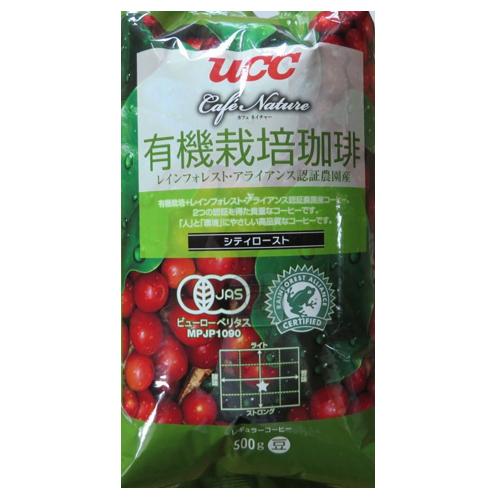 UCC上島珈琲 UCC CN有機栽培+レインフォレスト・アライアンス認証シティ豆AP500g 12袋入り UCC302801000