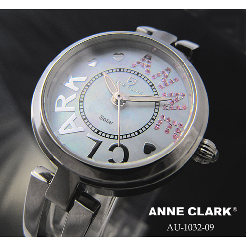 ANNE CLARK ソーラレディース時計 AU1032-09