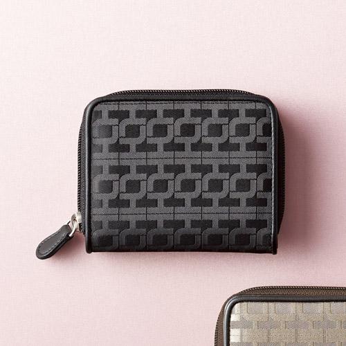 折り財布 ブラック