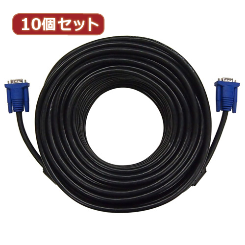 10個セット ディスプレイケーブル 黒 30m AS-CAPC038X10