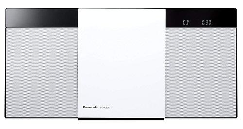 新品 パナソニック ミニコンポ Bluetooth対応/ワイドFM対応 ホワイト SC-HC300-W
