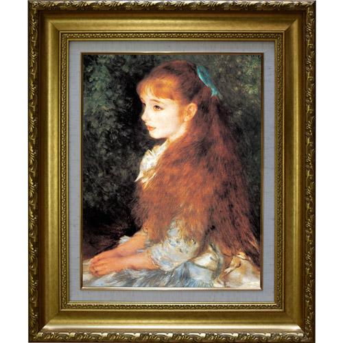 複製名画 ルノワール 「少女イレーヌ」 納期:約2~4週間 IRENE