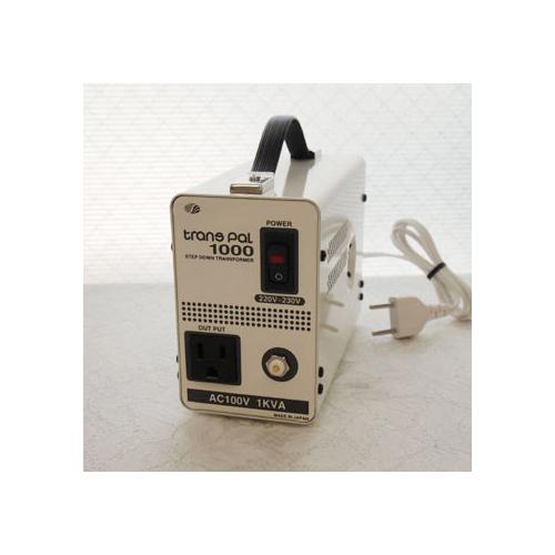スワロー電機 受注生産のため納期約2週間ダウントランス 220・230V→100V / 1000W PAL-1000EP