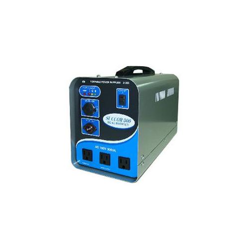 スワロー電機 受注生産のため納期約2週間ポータブルバッテリー(電源)300VA Z-300