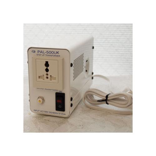 スワロー電機 受注生産のため納期約2週間アップトランス 100V→240V 500W PAL-500UK