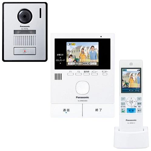 パナソニック ワイヤレスモニター付テレビドアホン どこでもドアホン VL-SWD303KL