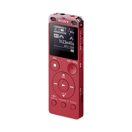 新品 ソニー SONY ICレコーダー ICD-UX560F PC ピンク
