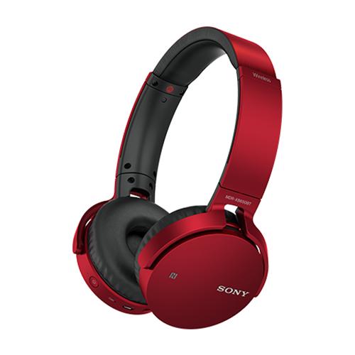 新品 ソニー SONY Bluetoothイヤホン MDR-XB650BT RZ レッド