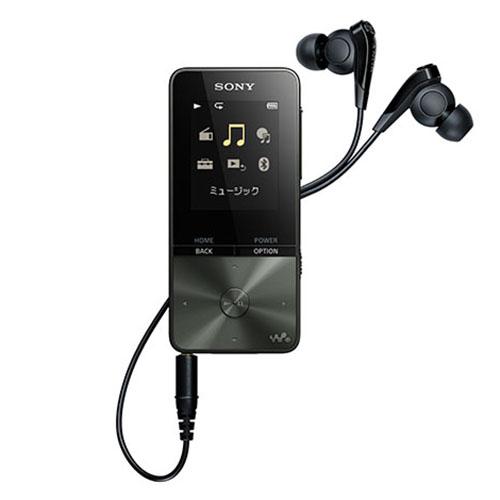 音楽も語学も、手の中で軽やかに 新品 ソニー SONY DAP ウォークマン NW-S315K B ブラック