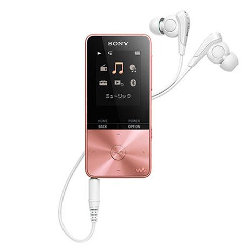 新品 ソニー SONY DAP ウォークマン NW-S315 PI ライトピンク