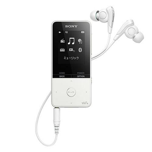 新品 ソニー SONY DAP ウォークマン NW-S315K W ホワイト