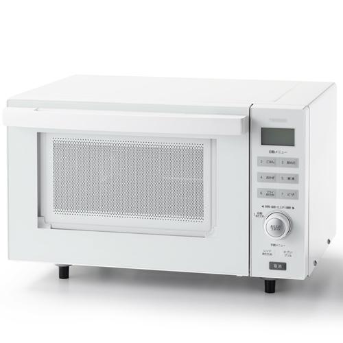 ツインバード TWINBIRD DR-E852W オーブンレンジ センサー付フラットオーブンレンジ ホワイト 18L DRE852W 一人暮らし 単身 単身赴任 新生活