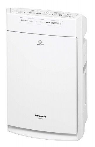 花粉対策 新品パナソニック 加湿空気清浄機 ナノイー・エコナビ搭載 ~25畳 ホワイト F-VXR55-W