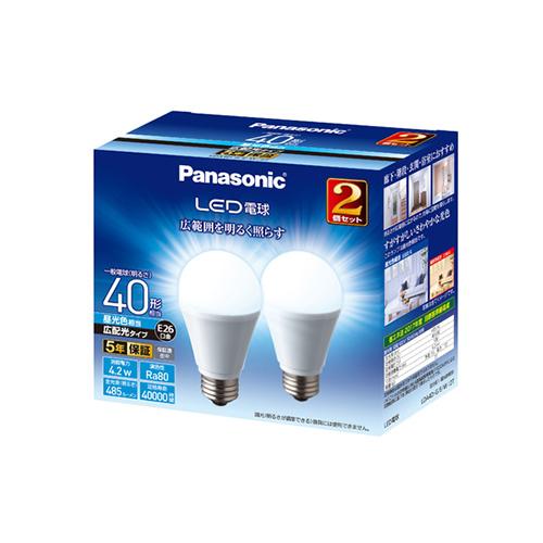 <title>廊下 階段 玄関 浴室におすすめのLED電球広配光タイプ パナソニック 日本産 Panasonic LED電球 LDA4DGEW2T</title>