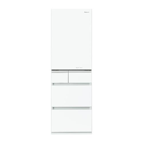 パナソニック Panasonic 大型冷蔵庫(451~500) NR-E454PXL 左開き W スノーホワイト