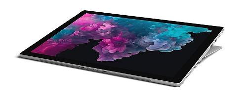 マイクロソフト Surface Pro 6 [サーフェス プロ 6 ノートパソコン]Office Home and Business 2019 / Windows 10 Home / 12.3 インチ Core i7/ 512GB/16GB プラチナ KJV-00027