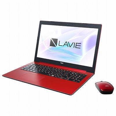 NEC ノートパソコン LaVie Note Standard カームレッド PCNS600MAR