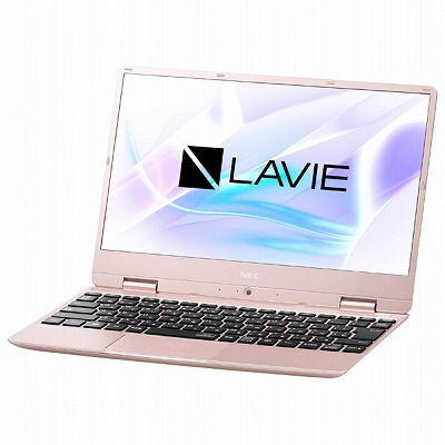 NEC ノートパソコン LaVie Note Mobile メタリックピンク PCNM550MAG