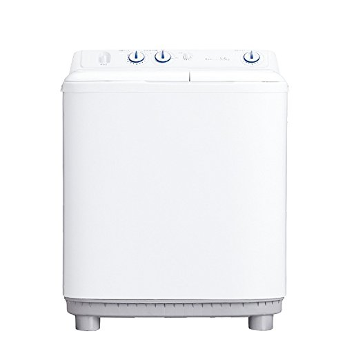 二層式洗濯機 ハイアール 5.5kg 2槽式洗濯機 Haier JW-W55E-W
