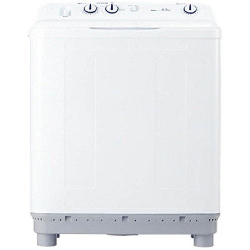 ハイアール 6.5kg 2槽式洗濯機 ホワイト Haier JW-W65E-W