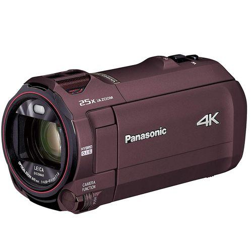 パナソニック 4K ビデオカメラ VZX992M 64GB 光学20倍ズーム カカオブラウン HC-VZX992M-T