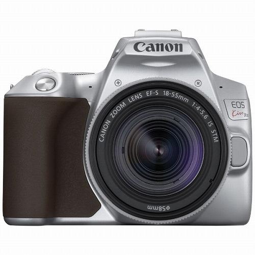 Canon デジタル一眼レフカメラ EOS Kiss X10 EF-S18-55 IS STM SL レンズキット シルバー