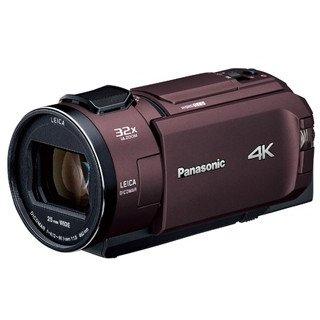パナソニックHC-WZX2Mデジタル4KビデオカメラカカオブラウンHCWZX2M