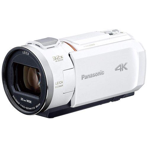 パナソニック HC-VZX2M デジタル4Kビデオカメラ ピュアホワイト HCVZX2M