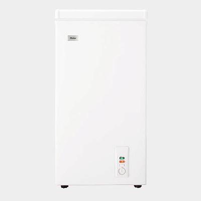 ハイアール 66L チェストタイプ 冷凍庫(フリーザー)直冷式 上開き 長期保存におすすめ まとめ買い 買い置き 急冷スイッチ 直冷式 ホワイトHaier JF-NC66F(W)