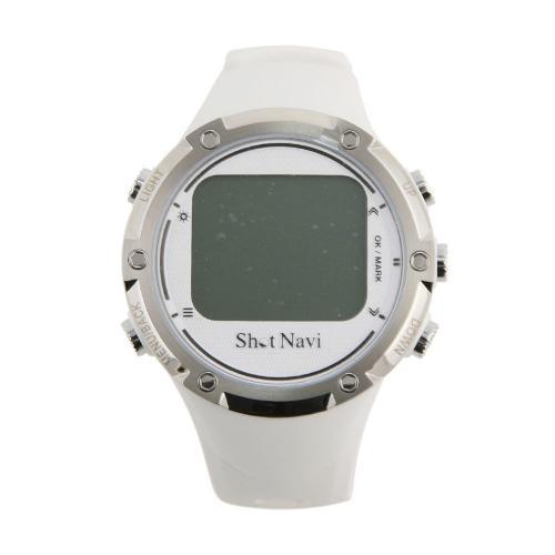 GPSゴルフナビ ウォッチタイプ(ホワイト) ショットナビ W1-GL