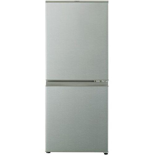 126L 2ドア冷蔵庫 ブラッシュシルバー 右開き アクア AQR-13H