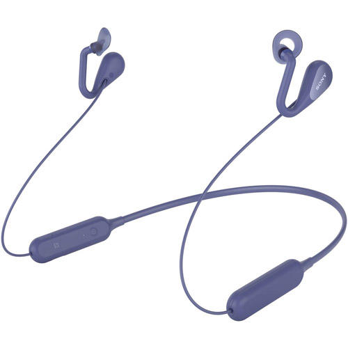 耳をふさがない開放型BluetoothワイヤレスイヤホンブルーソニーSBH82DJP